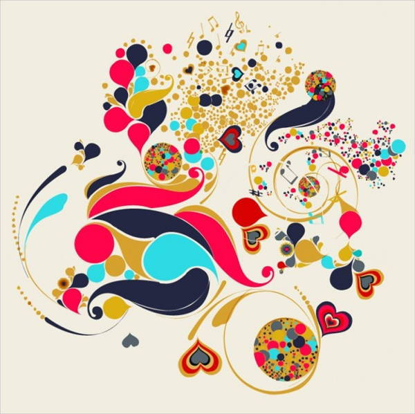 abstract free vector art