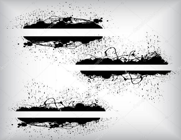 abstract grunge banner vector