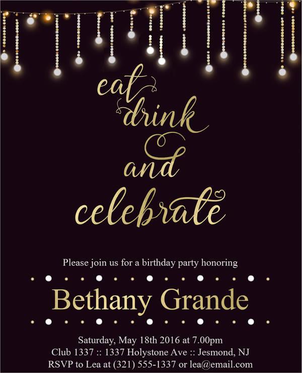 adult birthday event invitation1