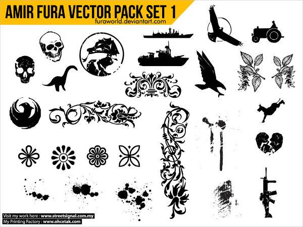 amir fura vector pack set