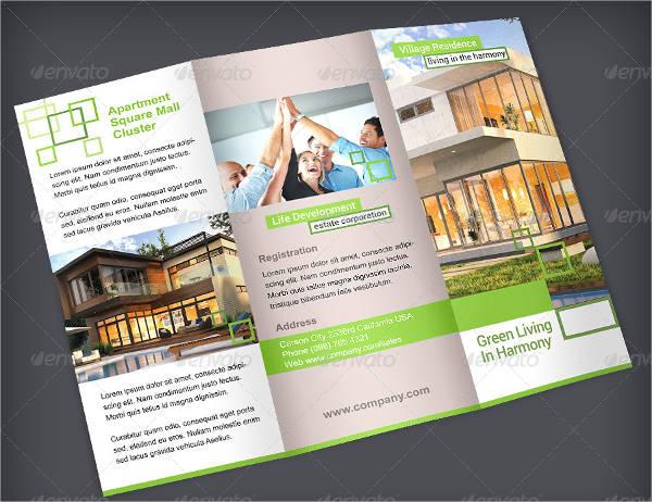 apartment brochure templates - 30 real estate brochures download download downloadcloud