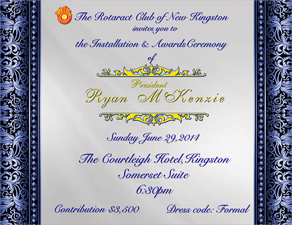 44 Invitation Templates Download – Ceremony Invitation Template