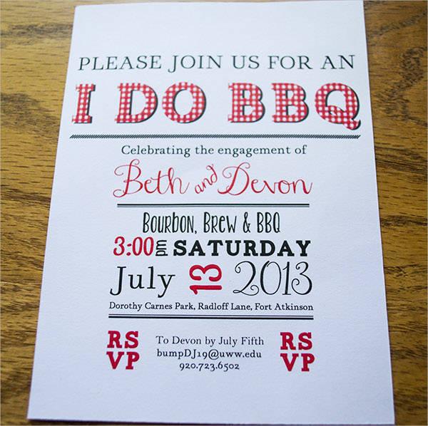 bbq invitation wording
