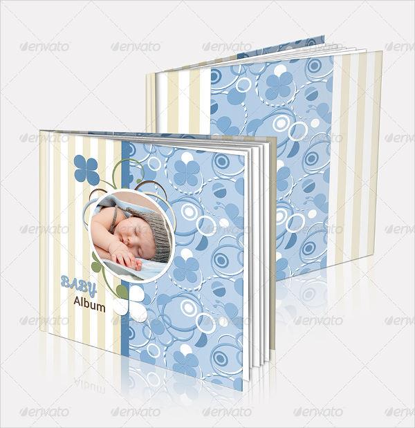 baby birthday photo album
