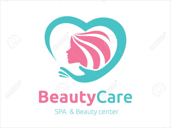 beauty care logo template design2