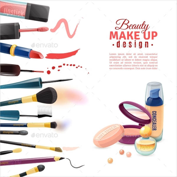 beauty cosmetics advertisement