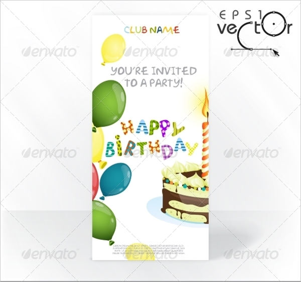 birthday invitation cards design3