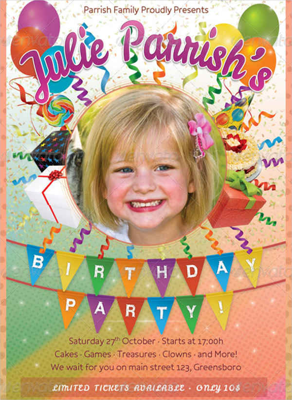 birthday invitation cards with photo1