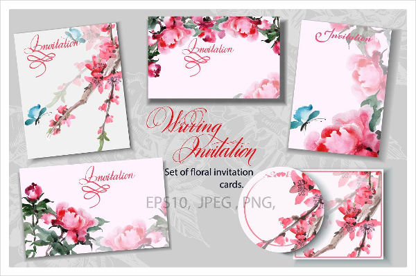 blank wedding invitation template