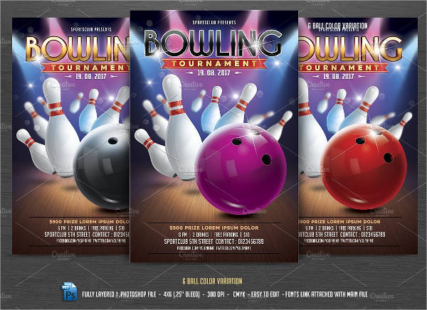 bowling tournament flyer1