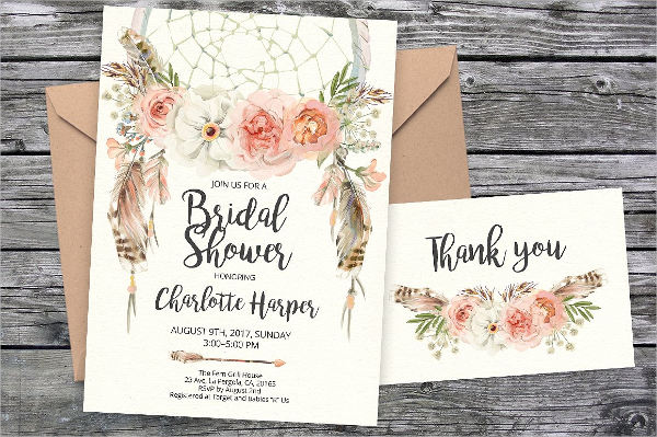 bridal shower diy invitations