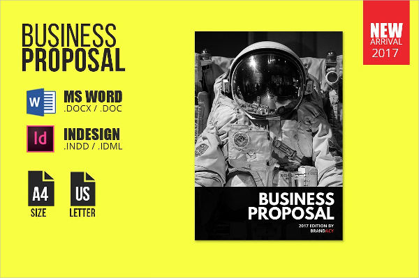 business proposal brochure template