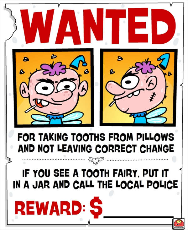 cartoon funny wanted poster4