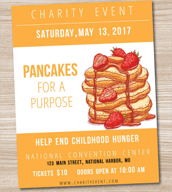 charity event invitations wording