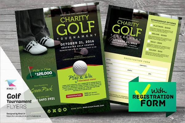 charity golf tournament flyer1