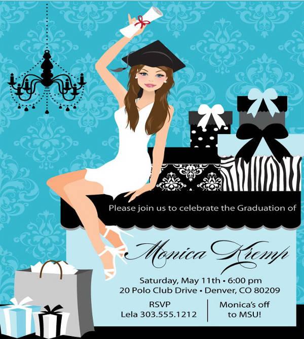 college graduation party invitation1