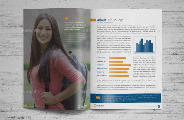 college university prospectus brochure