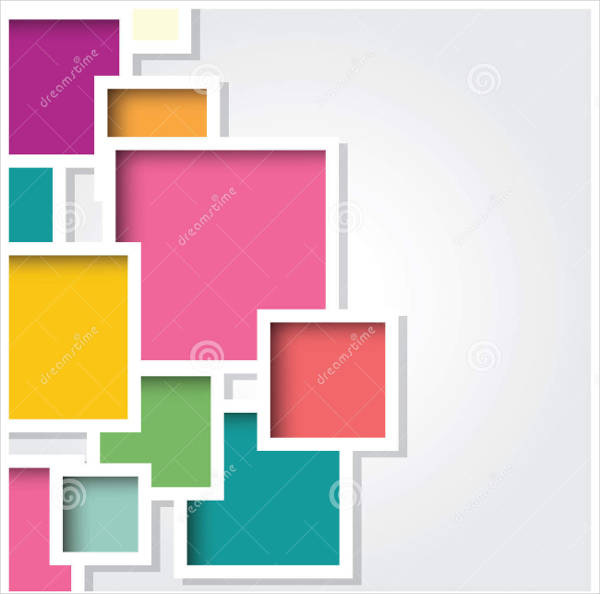 colorful vector stock