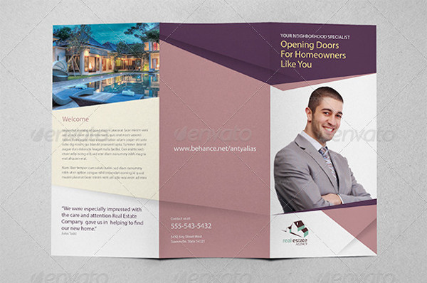 commercial property marketing brochure
