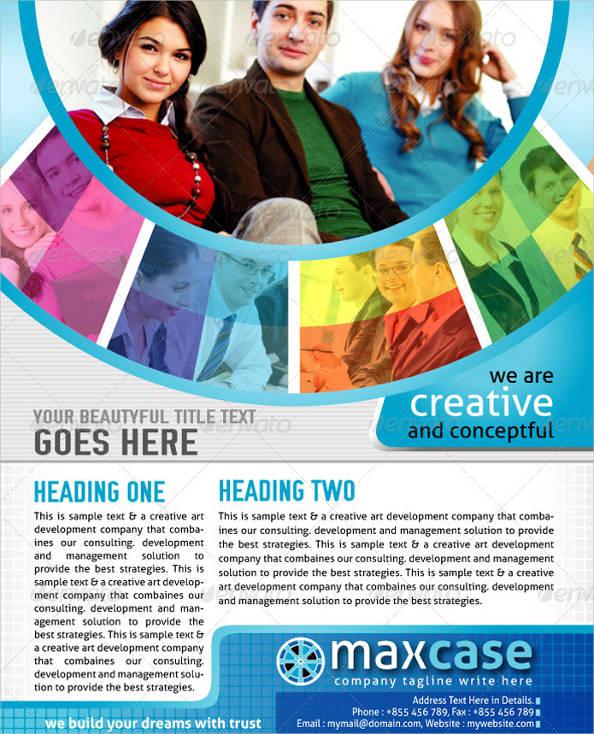 cool business flyer design