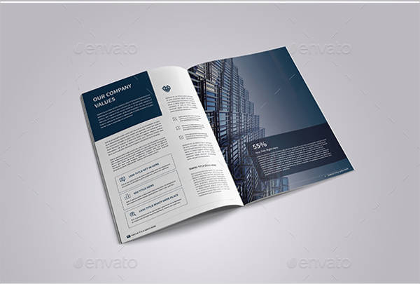 corporate it company brochure