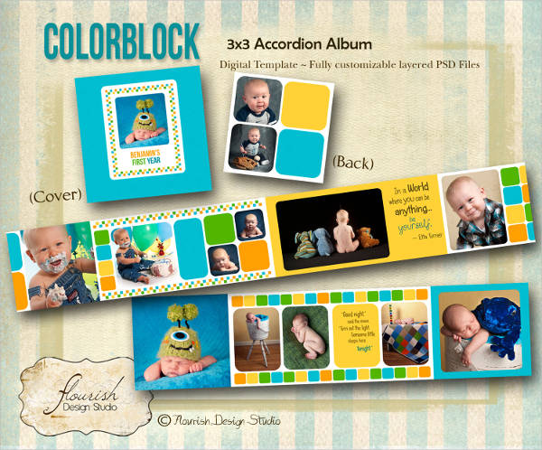 custom birthday album