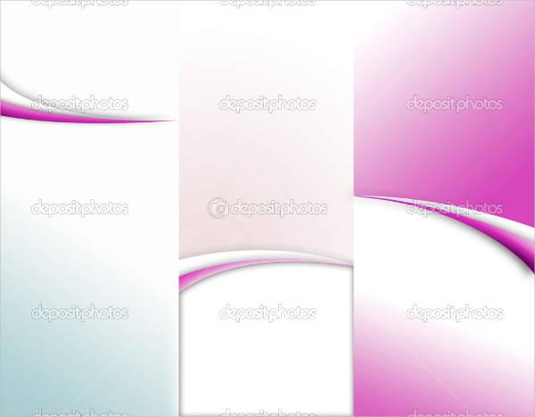 custom tri fold brochure template1