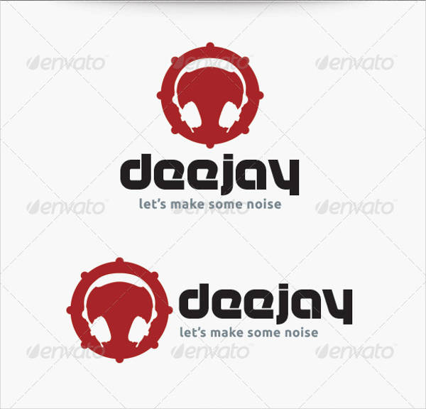 dj logo template ai and eps1