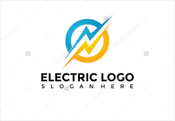 electric logo template vector illustration eps
