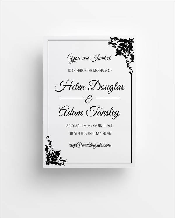 When Do You Send Out Wedding Invitations: 40+ Wedding Invitations Download