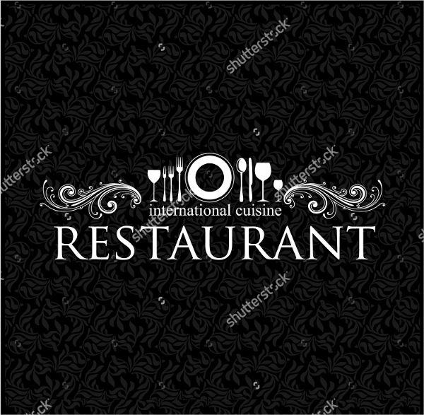 elegant restaurant logo design