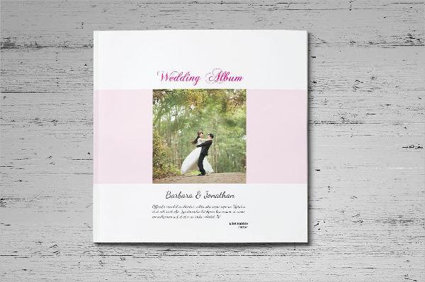 elegant stylish wedding album