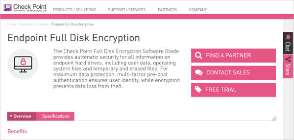 endpoint full disk encryption
