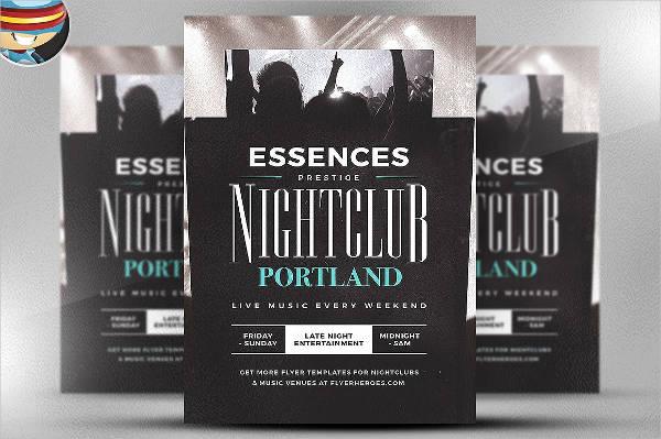 essences flyer template