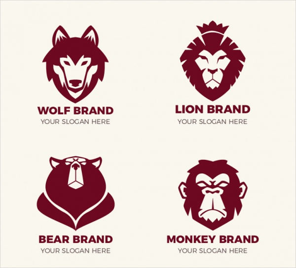 fantastic logos with animals