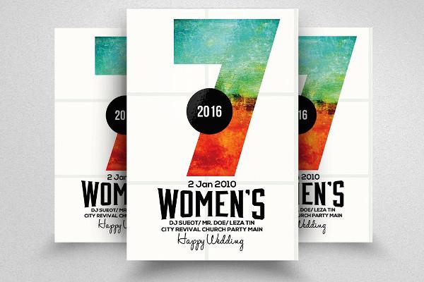 feminine conference invitation template1