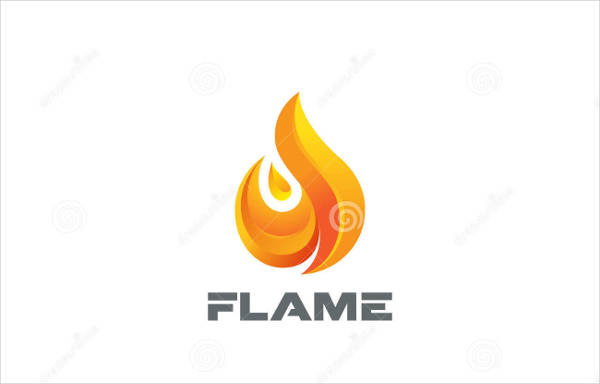 fire flame vector template