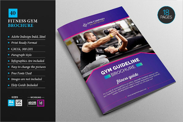 fitness healthcare brochure