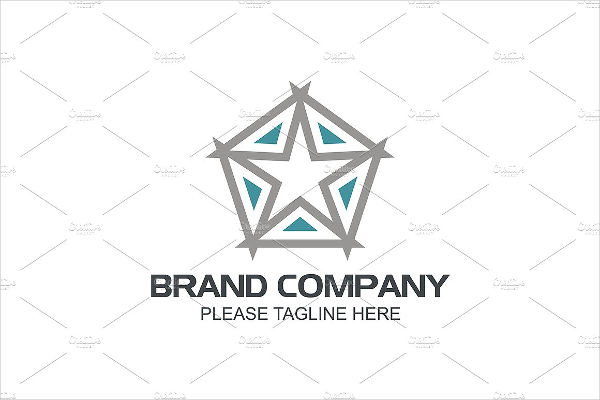 five star logo design