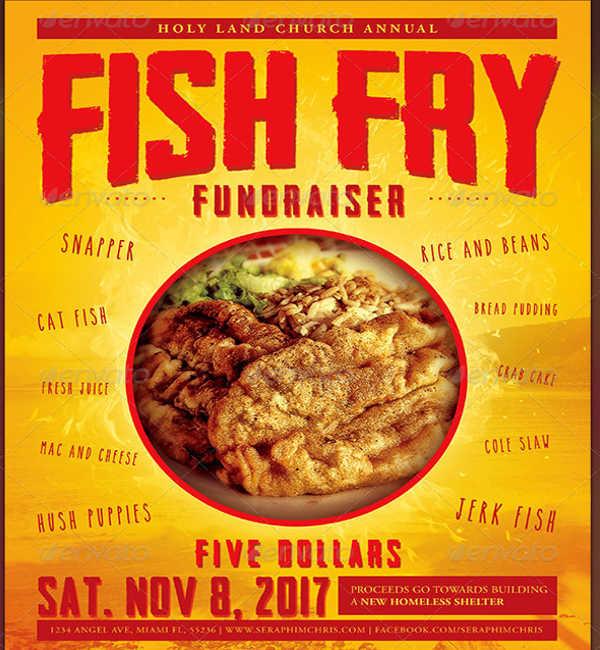 food event flyer design
