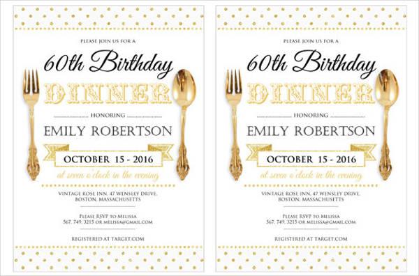 formal birthday dinner invitation1