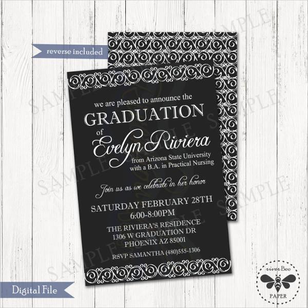 formal graduation announcement template1