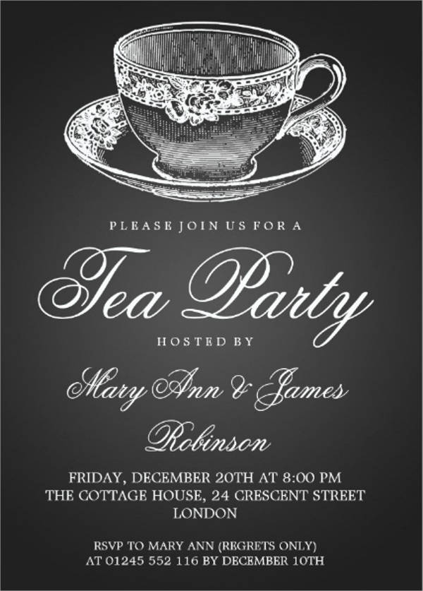 27  formal invitation templates