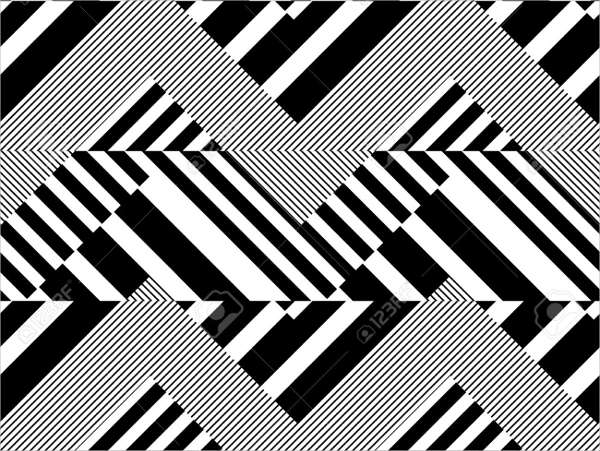 free abstract striped geometric pattern