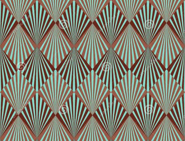 free art deco pattern download