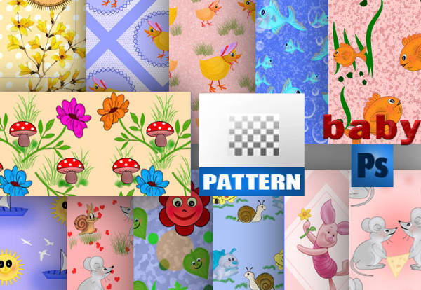 free baby psd patterns