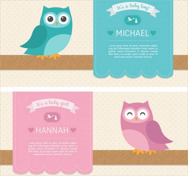 free baby shower owl invitation template