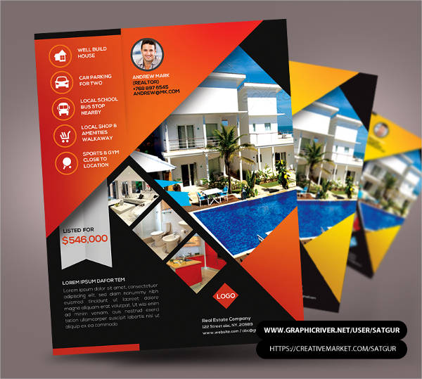 free commercial realestate flyer