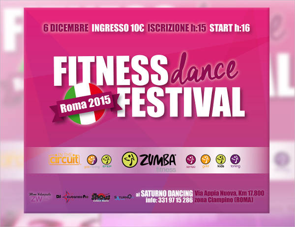 free dance fitness flyer1