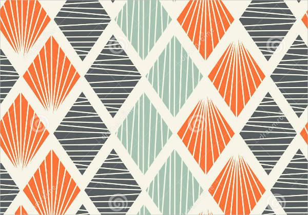 free decorative geometric pattern